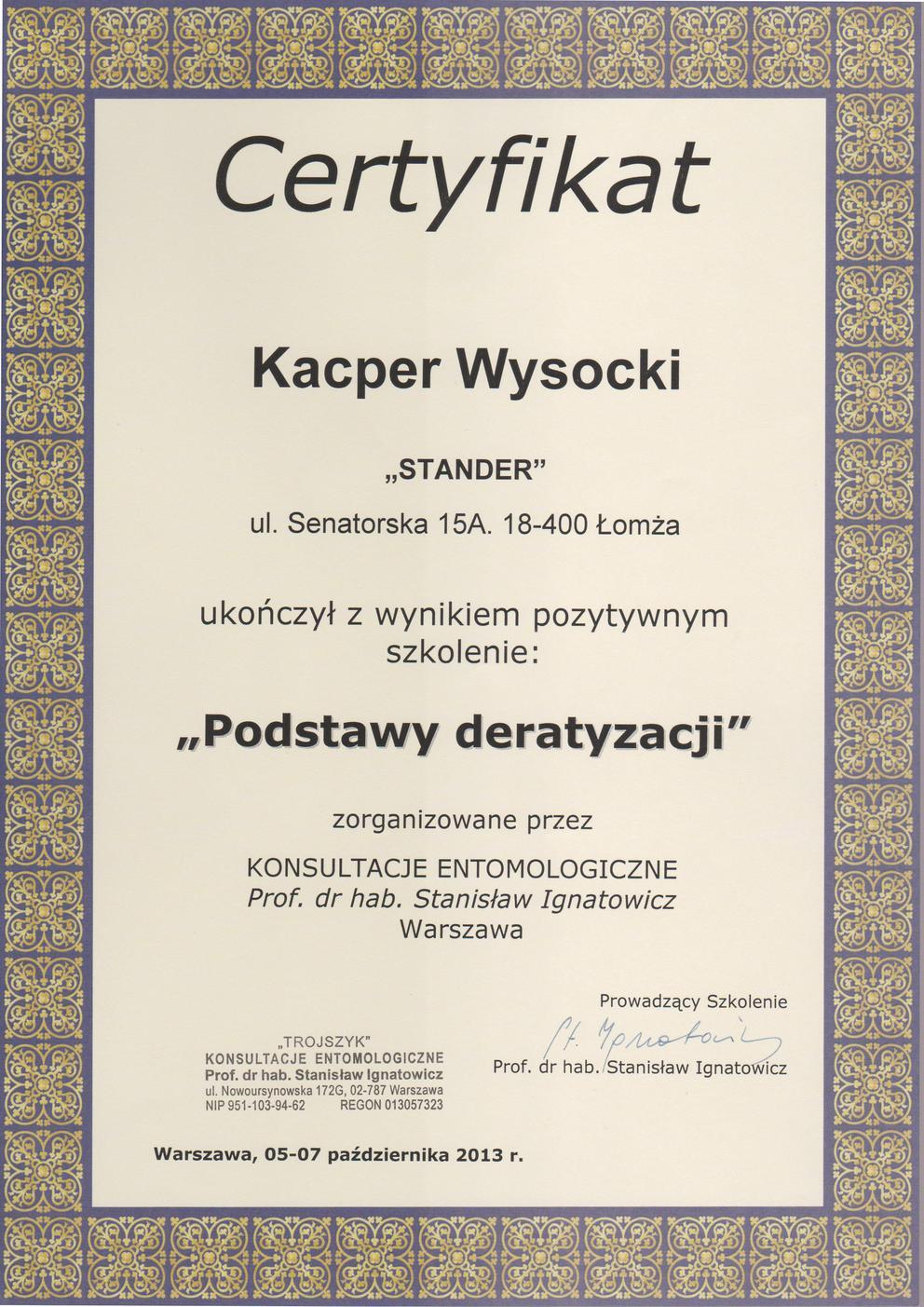 deratyzacja Białystok dla firm