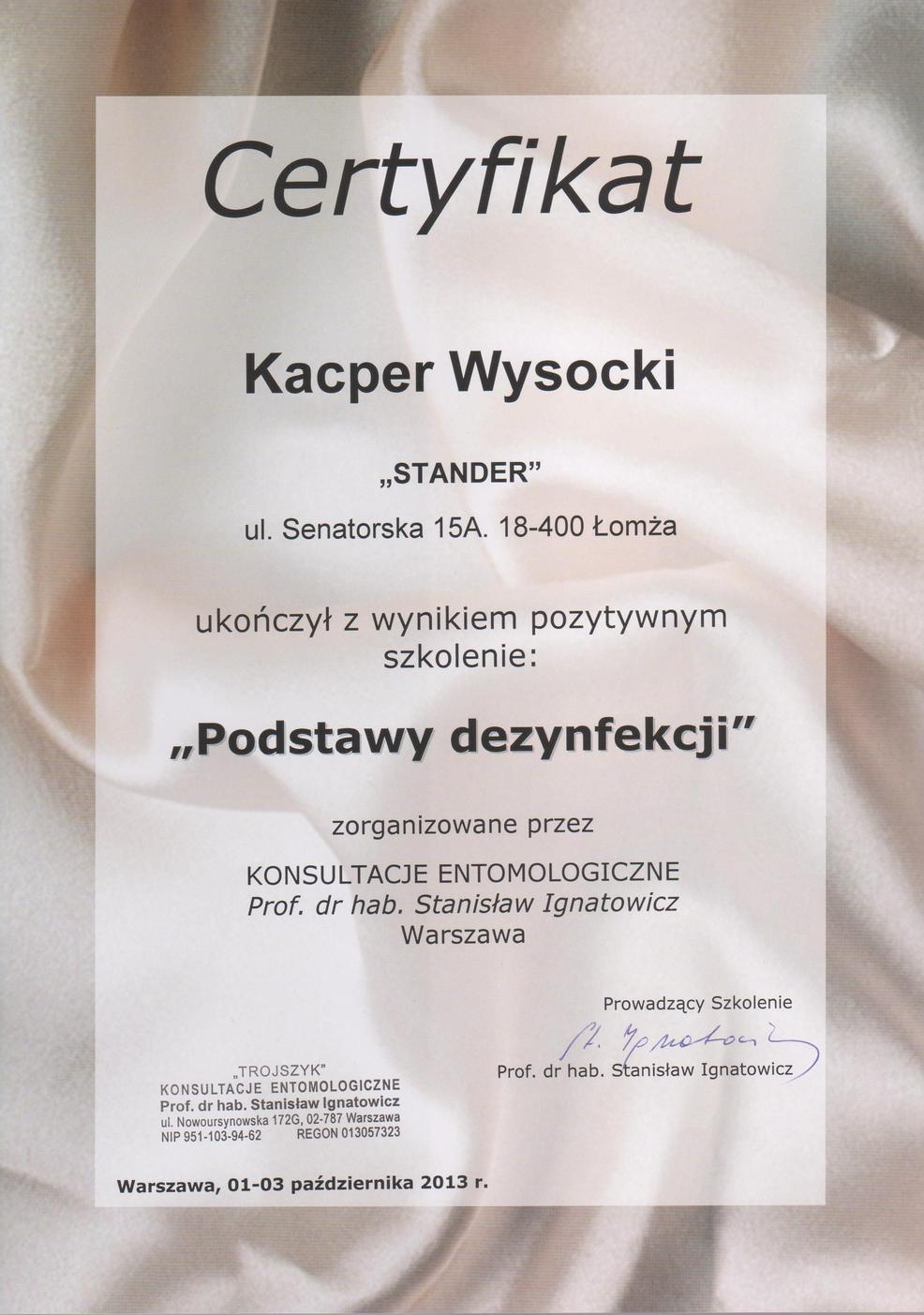 dezynfekcja Białystok dla firm