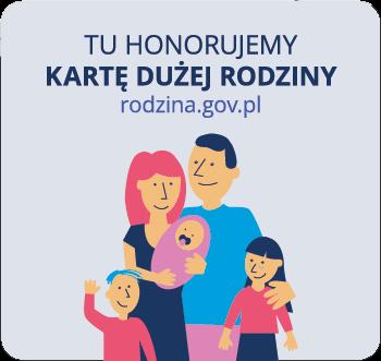 Stander karta duzej rodziny